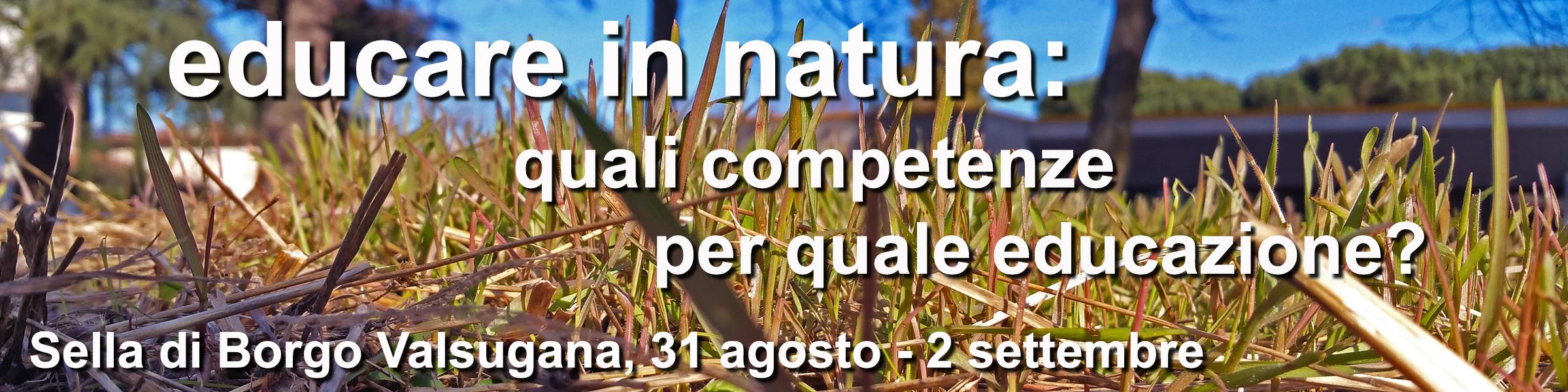 Educare in natura